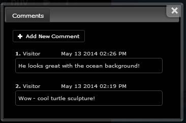 site comments