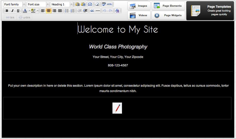 custom-homepage-editor
