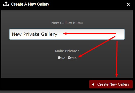 new private gallery