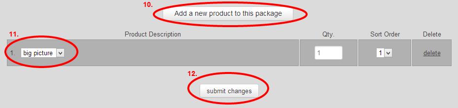 RedFrameStore packages 4
