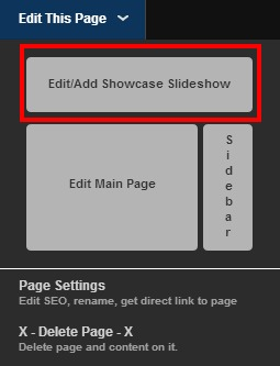Showcase Editor