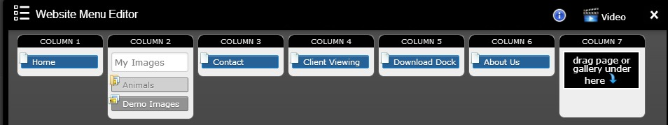 menu editor 1