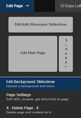 page editor