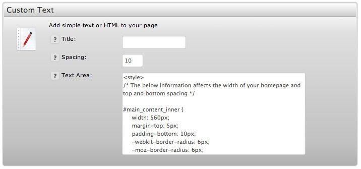 custom-homepage-textwidget