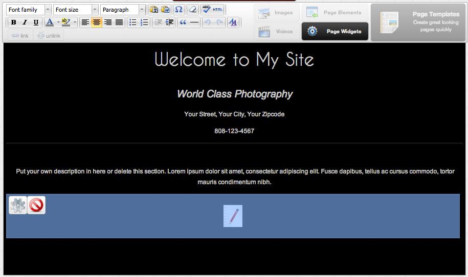 custom-homepage-widget-selected