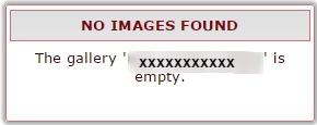 no images found