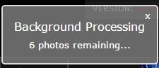 uploader background processing